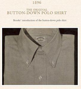 Den originale Poloshirt fra Brookes Brothers