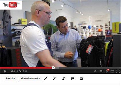 Se en 2 min film om Orloff Firmatøj A/S
